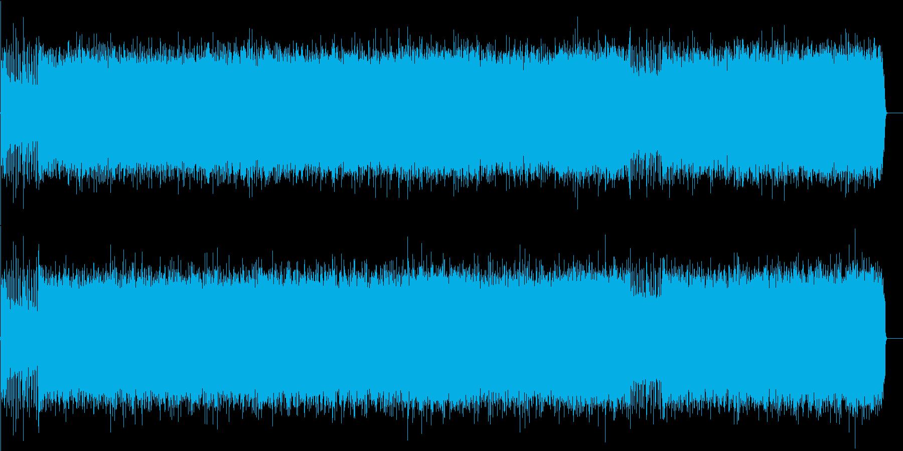 疾走するアメリカンロック(フルサイズ)の再生済みの波形