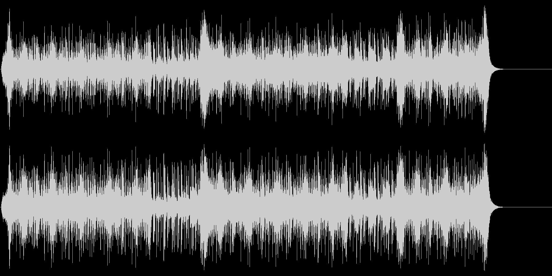 スイング・ジャズ風ポップ/BGの未再生の波形