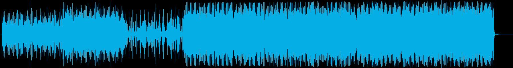 ピコピコ系のゲームの森の曲っぽいの再生済みの波形