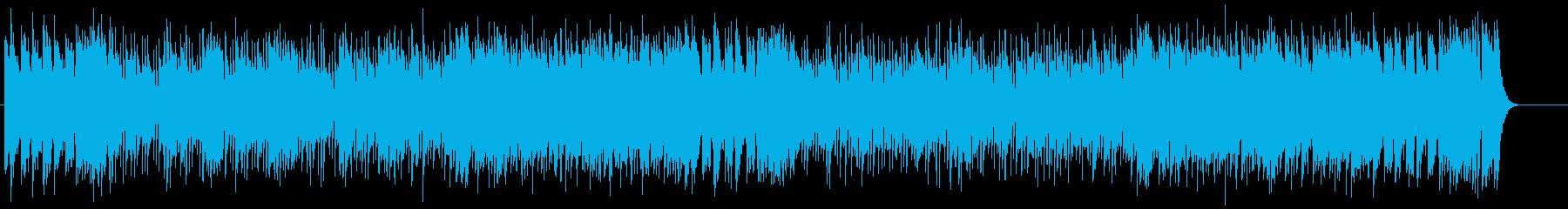 ピアノの調べが美しい、ブライダルBGMの再生済みの波形