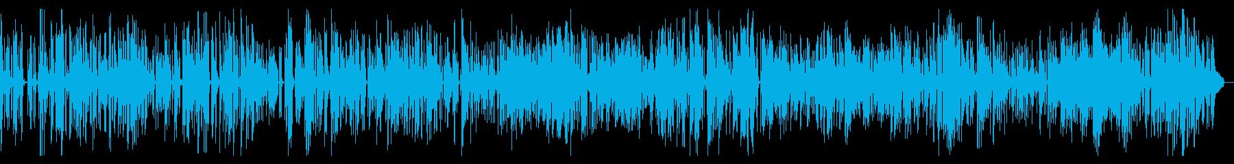 オシャレなジャズ Cafe BGM の再生済みの波形