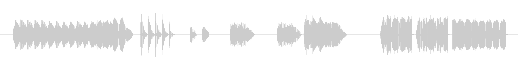 FX アーケードシューティングプレイ02の未再生の波形
