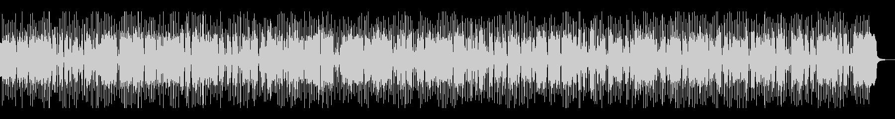 グルービー、シンセ系ディスコテクノビートの未再生の波形