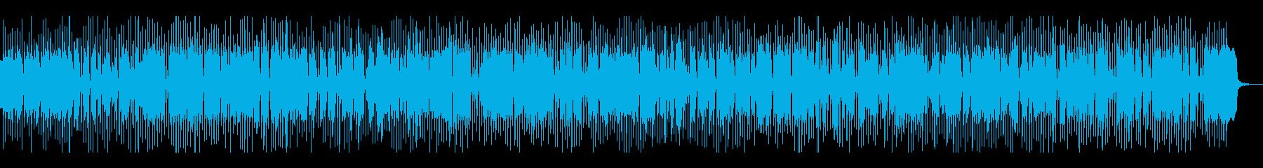 グルービー、シンセ系ディスコテクノビートの再生済みの波形