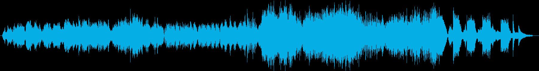 和と情熱の職人/生演奏チェロ/映像の再生済みの波形