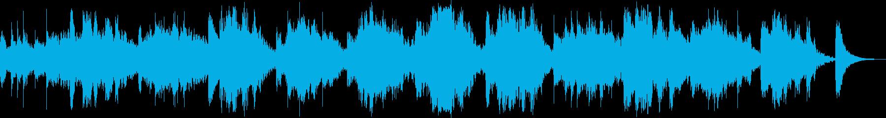 動画 サスペンス 実験的 希望的 ...の再生済みの波形