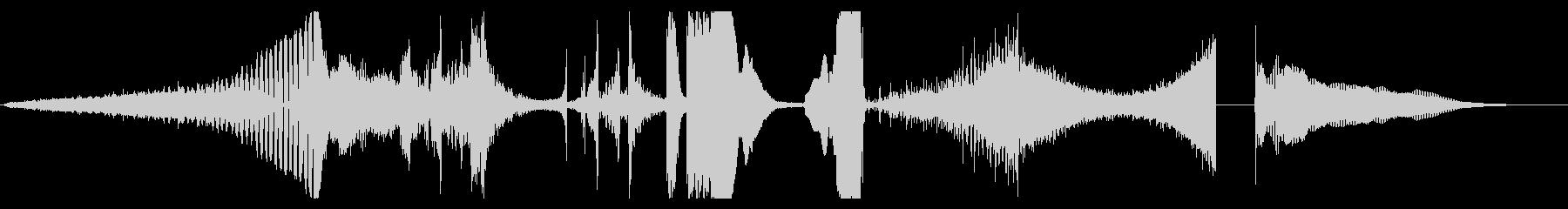 トレーラー ティーザー 先鋭的動画向けの未再生の波形