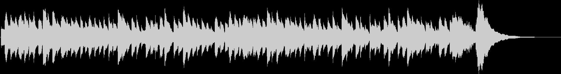 幻想的なチェレスタの未再生の波形