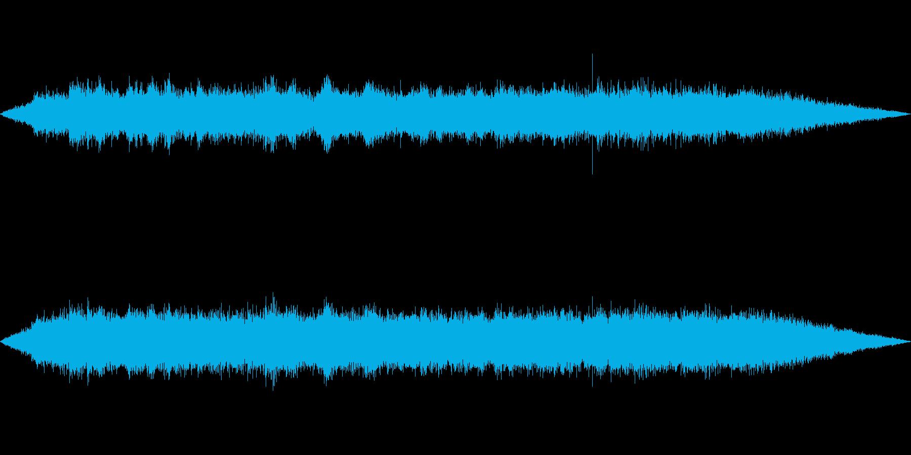 海 波 浜辺 海岸 カモメの環境音 16の再生済みの波形