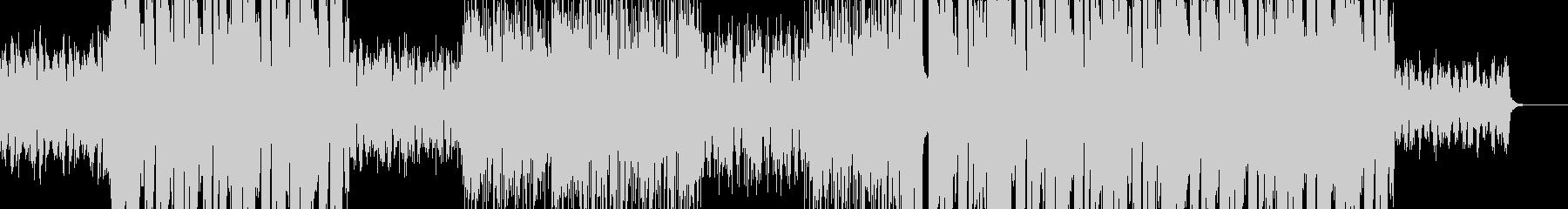 切ないピアノFutureBass/EDMの未再生の波形