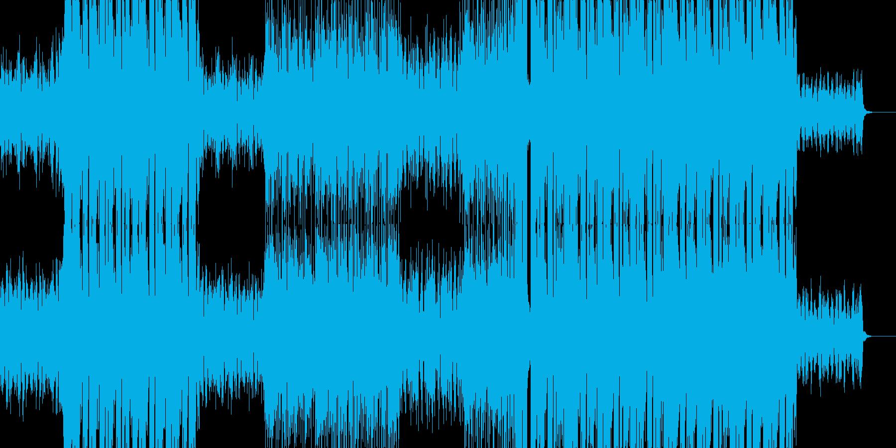 切ないピアノFutureBass/EDMの再生済みの波形