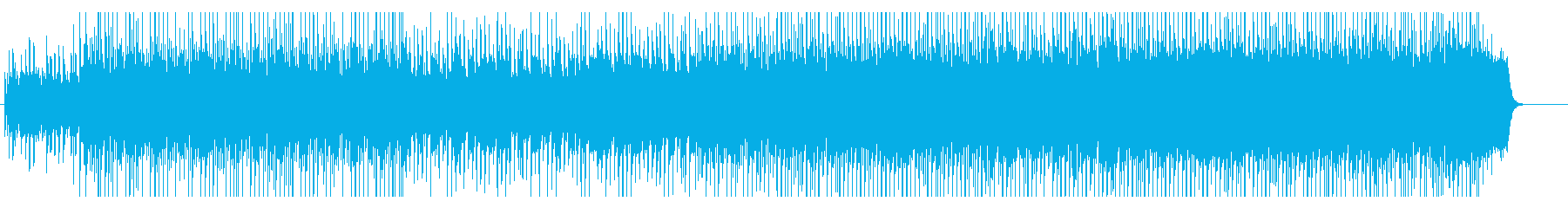 きよしこの夜 3拍子のライトテクノの再生済みの波形