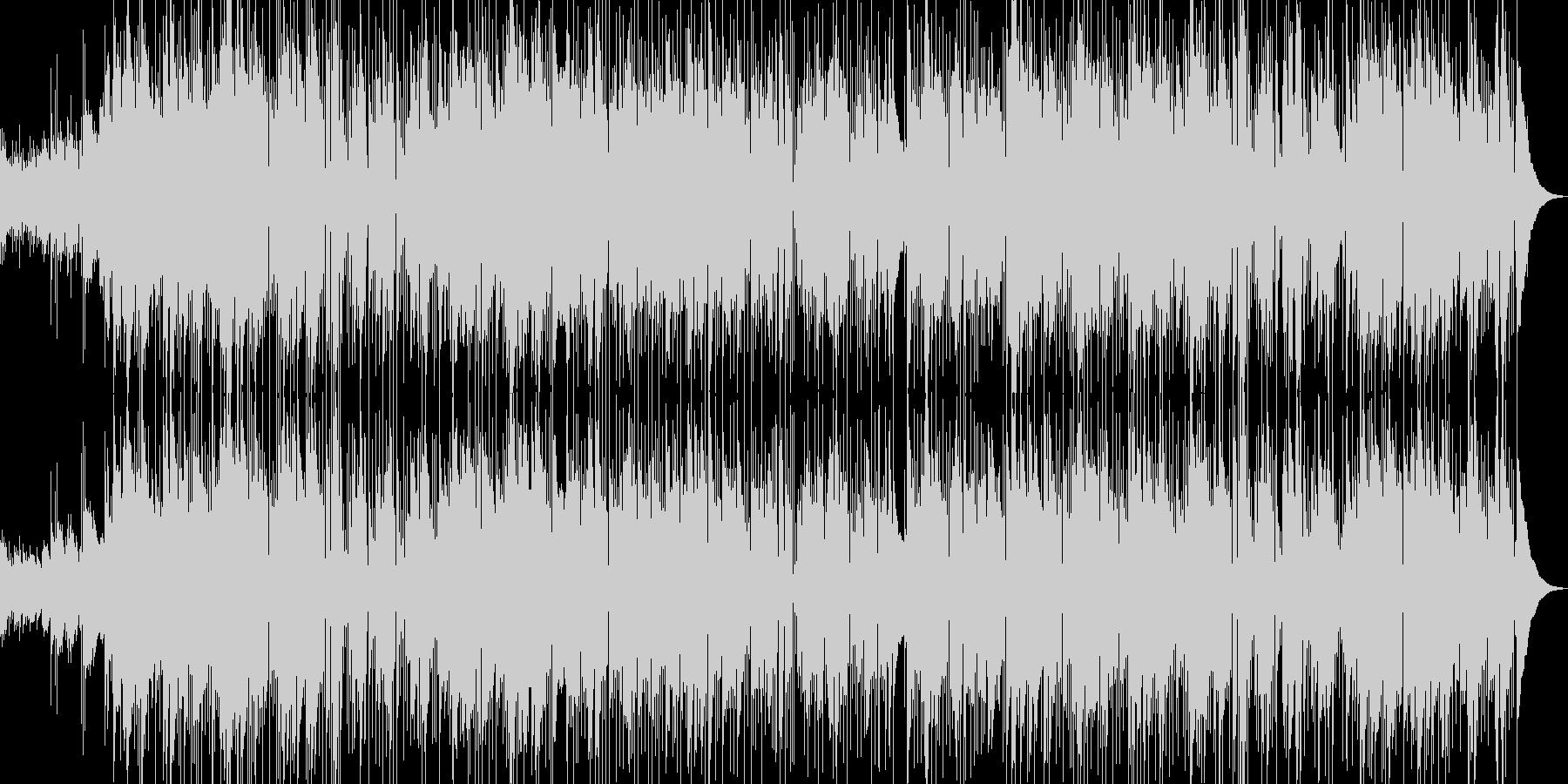 癒し系 バラード リラックス ヒーリングの未再生の波形
