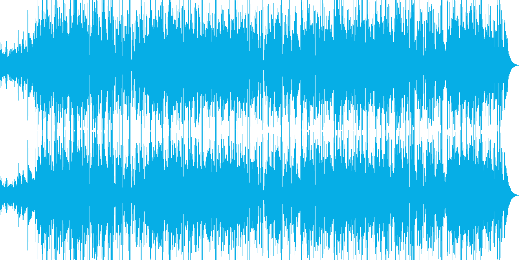 癒し系 バラード リラックス ヒーリングの再生済みの波形