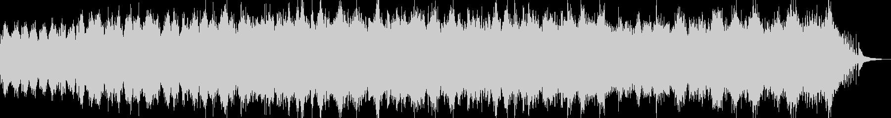 流れるピアノが印象的な癒しBGM Aの未再生の波形