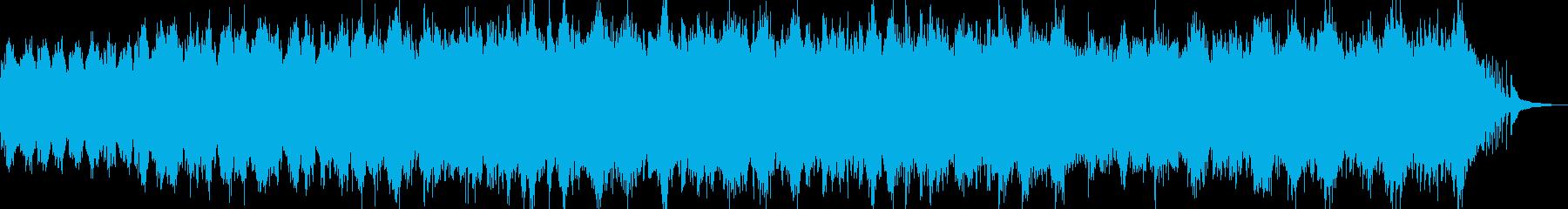 流れるピアノが印象的な癒しBGM Aの再生済みの波形