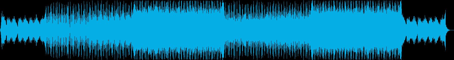 切ない、クール、EDMの再生済みの波形