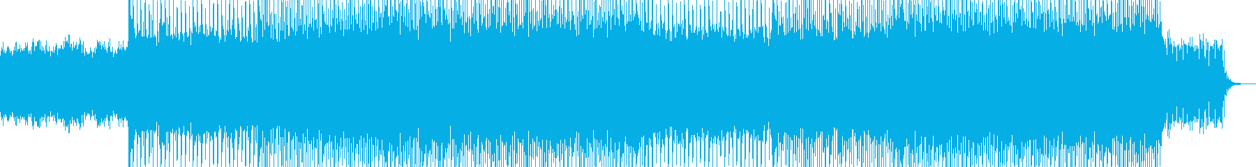 EDMクラブ系ダンスミュージック-124の再生済みの波形