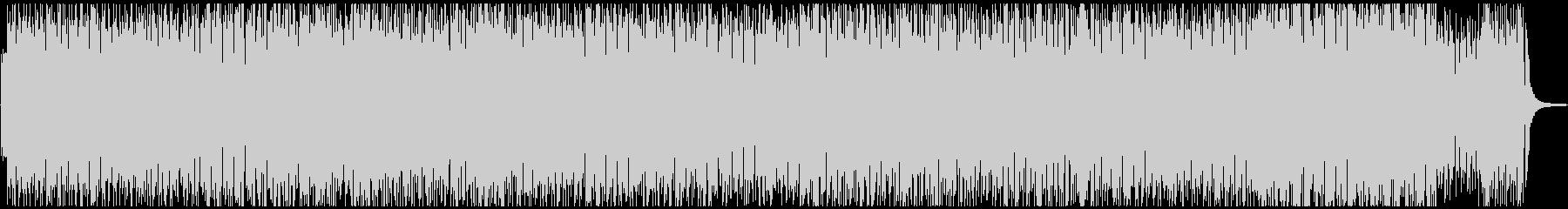 ピアノのハイテンポなジャズの未再生の波形