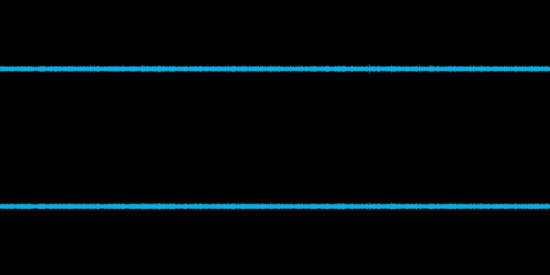 水道の水の音の再生済みの波形