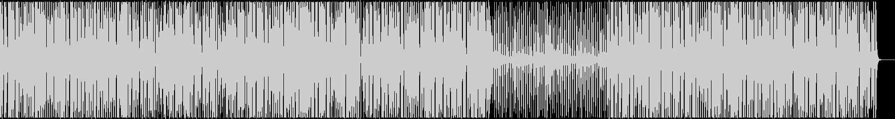 楽しいクッキングBGMの未再生の波形