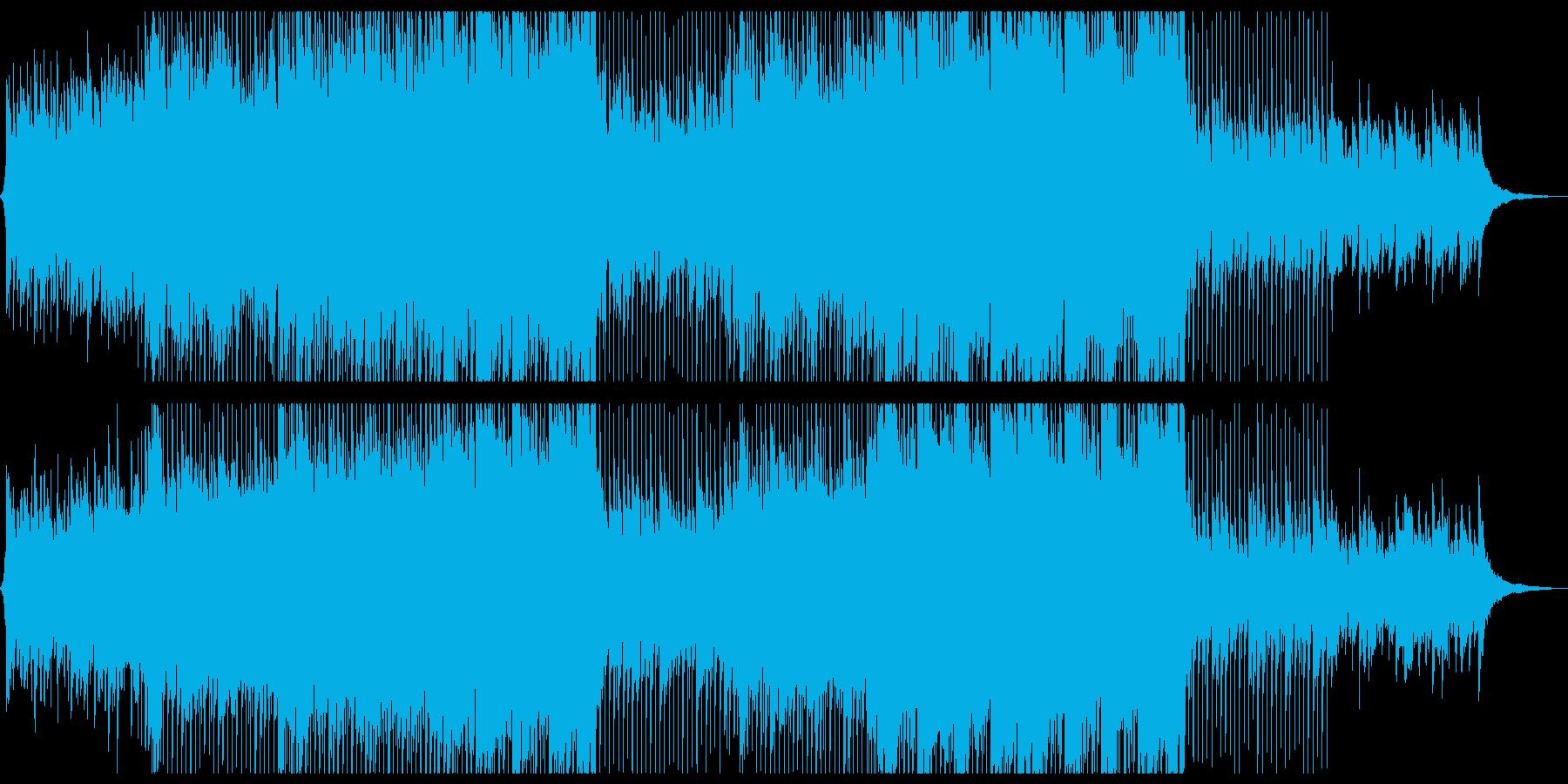 おしゃれ17の再生済みの波形