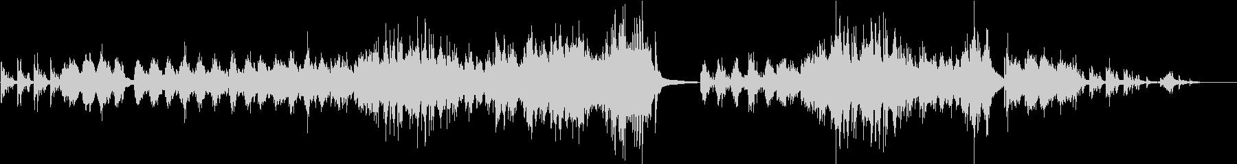 爽やかで優しいメロディが印象的なピアノ曲の未再生の波形
