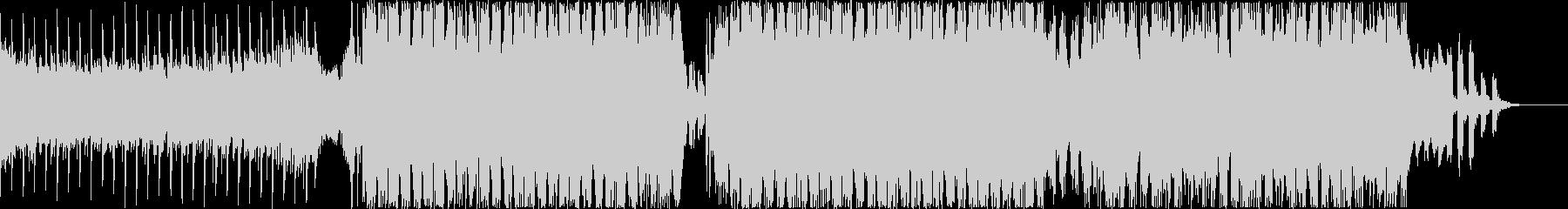 ジングルベルのノリノリEDMアレンジの未再生の波形