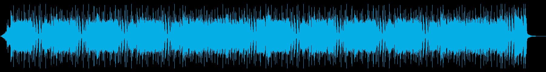 ストリングスが華やかで上品な前向きBGMの再生済みの波形