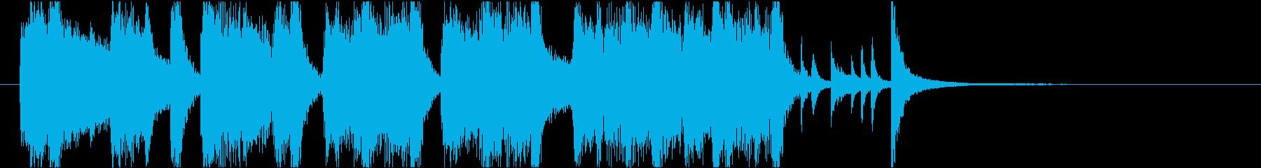 洗練された本格ビッグバンドジャズイントロの再生済みの波形