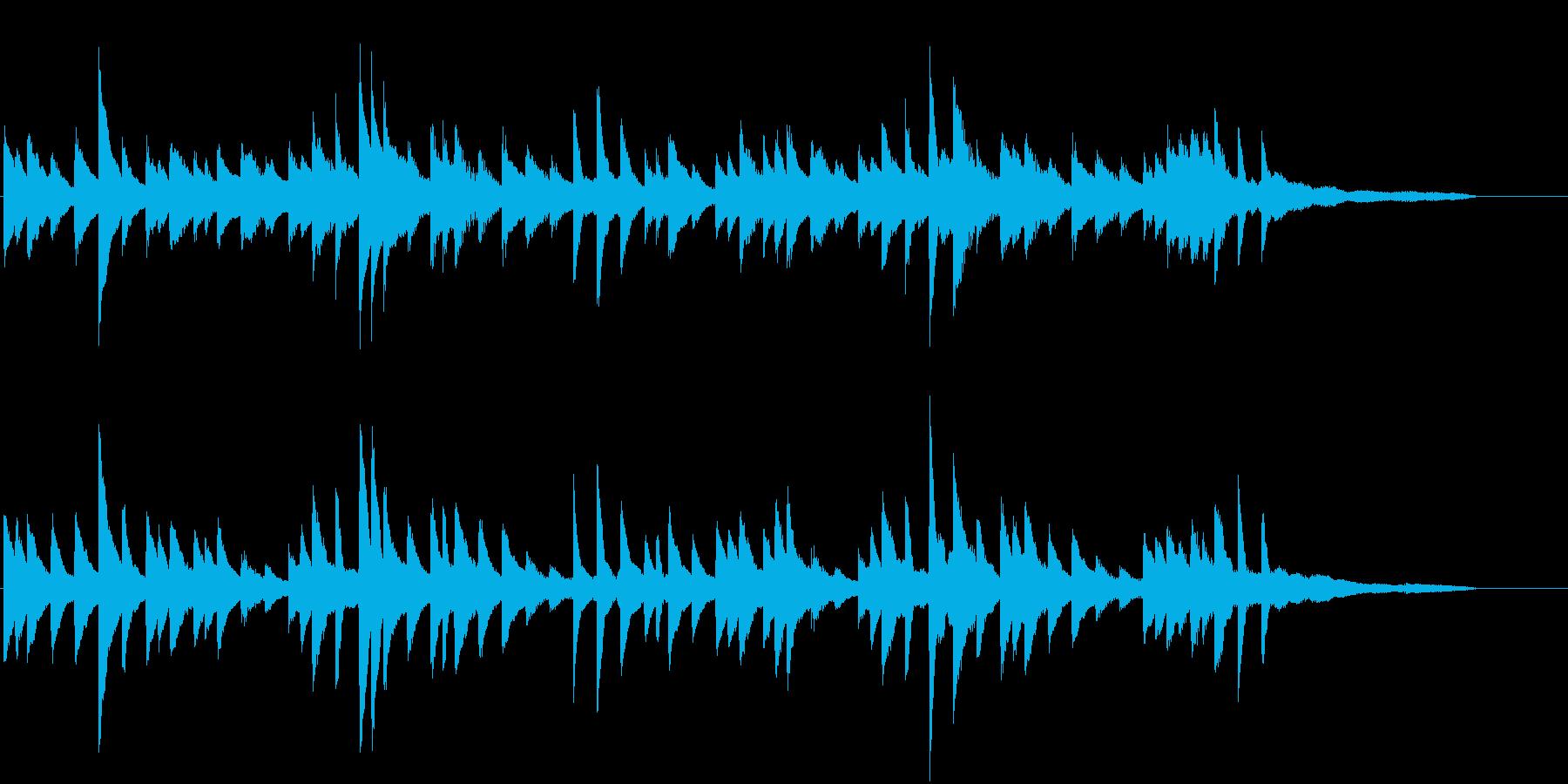 懐古的に♪童謡・こいのぼりピアノジングルの再生済みの波形