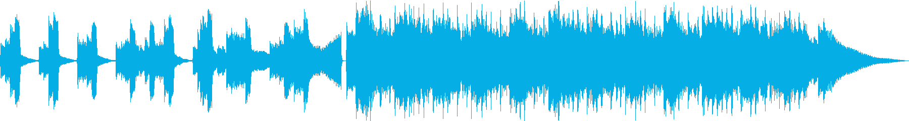 クールなアコギ30秒CMの再生済みの波形