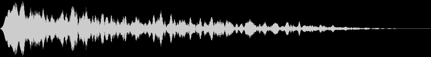 【アンビエント】ドローン_22 実験音の未再生の波形