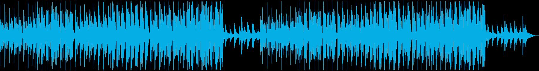 【チル】ゆったりとしたBGM・9の再生済みの波形