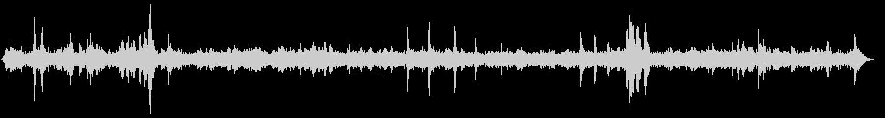 滝と鳥の鳴き声 03の未再生の波形