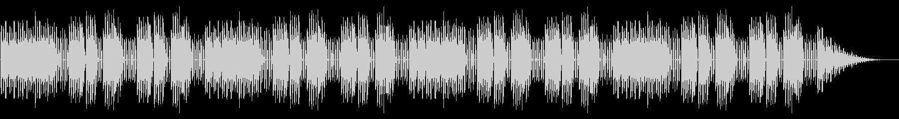 GB風東洋ボードゲームのステージ曲の未再生の波形