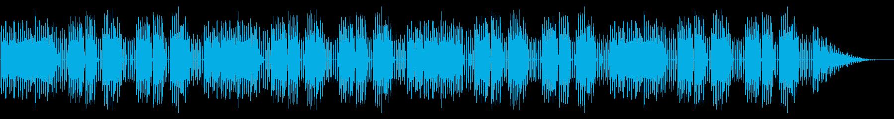 GB風東洋ボードゲームのステージ曲の再生済みの波形