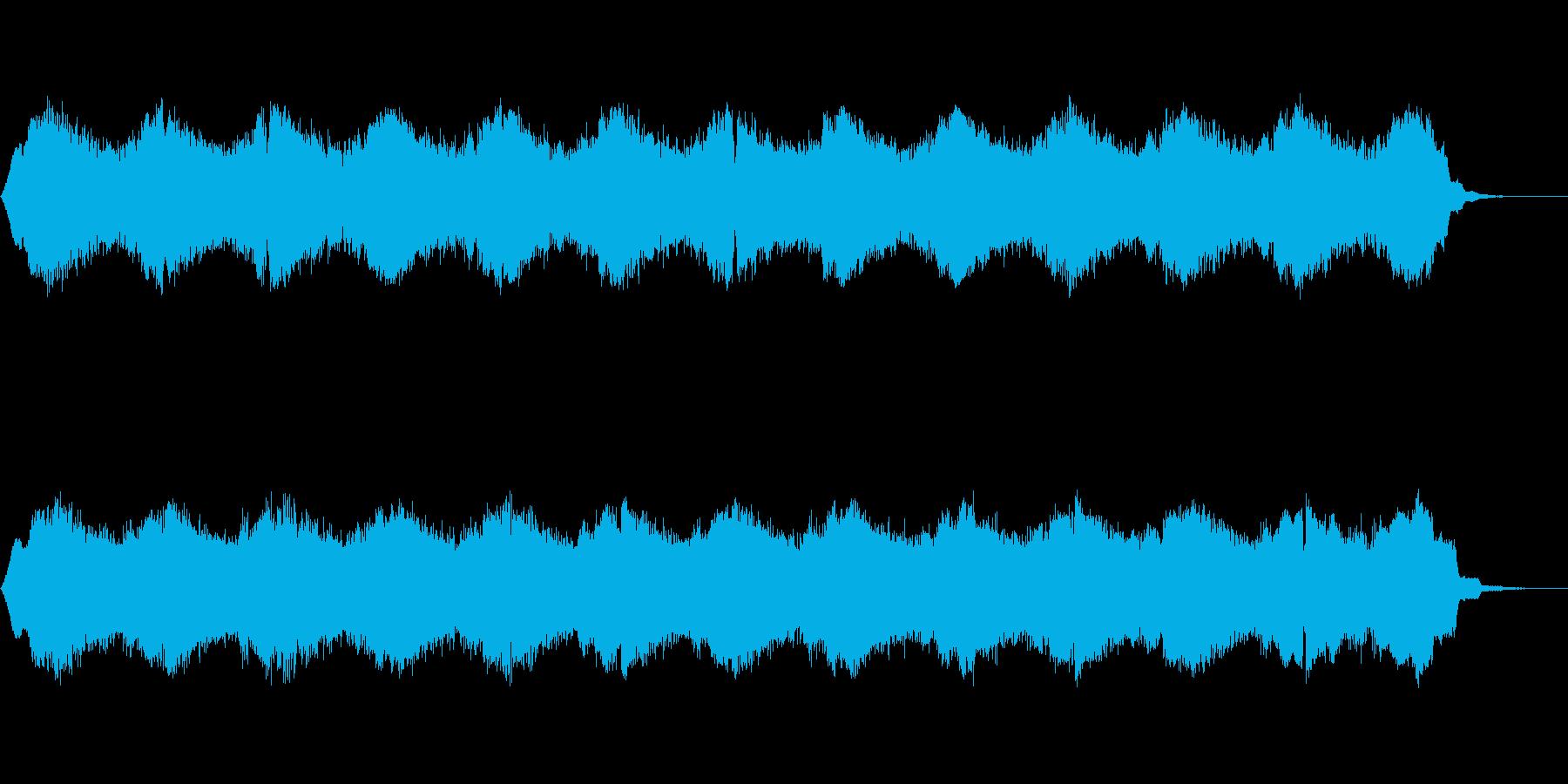 サンプルアンドホールド(ランダム)音の再生済みの波形