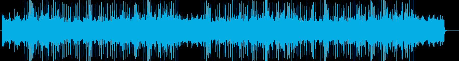 洋楽トラップソウル、R&Bビート♫の再生済みの波形