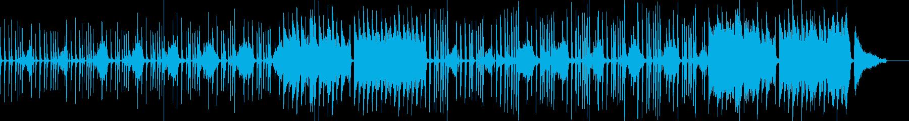 マヌケシーンを演出・トランペット有 D2の再生済みの波形