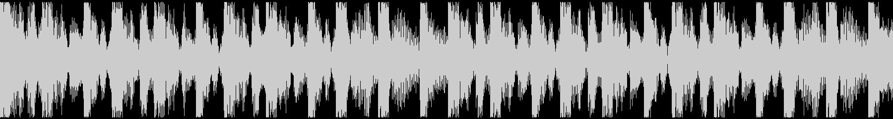 激しい・ダーク・エキサイティング短ループの未再生の波形