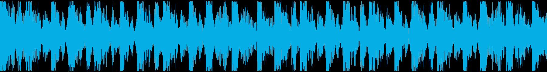 激しい・ダーク・エキサイティング短ループの再生済みの波形