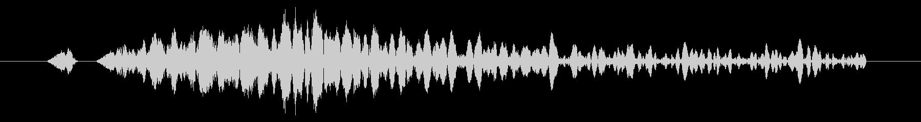 システム画面/閉じる/キャンセル効果音4の未再生の波形