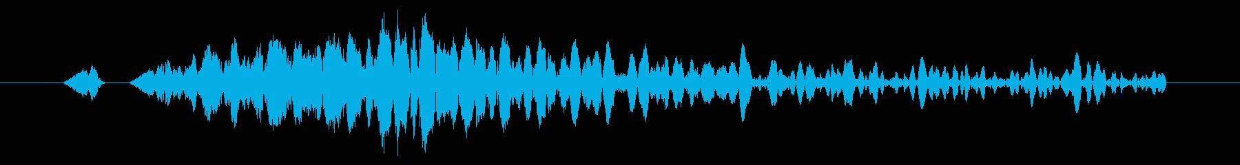 システム画面/閉じる/キャンセル効果音4の再生済みの波形