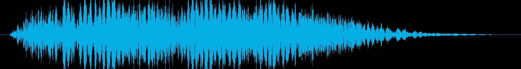 パンチやキックに最適な打撃音!06の再生済みの波形
