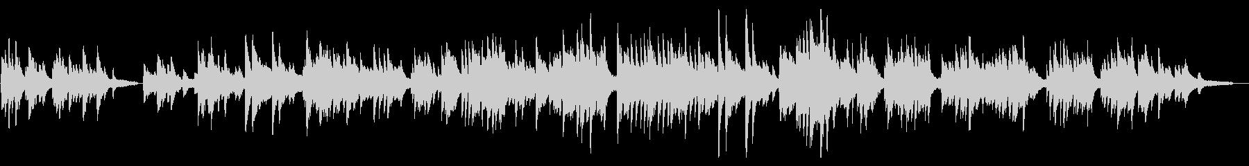 感動的な場で使えるピアノソロ曲の未再生の波形