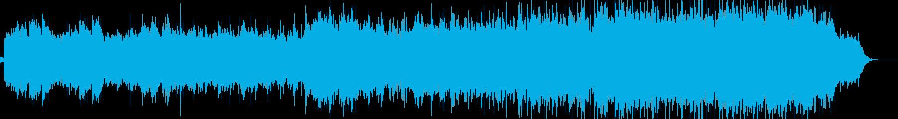 アイリッシュなオリジナル民族音楽です。の再生済みの波形
