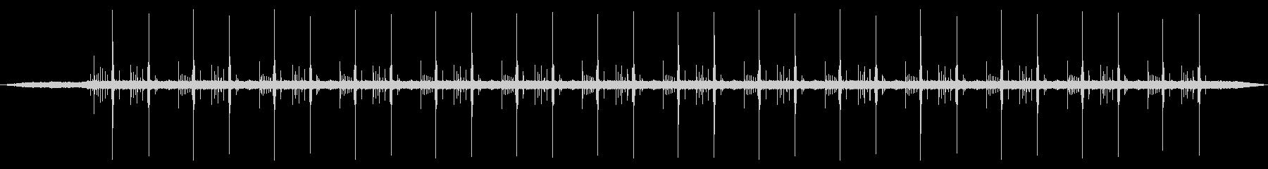 ハードディスクの異音2 ステレオの未再生の波形