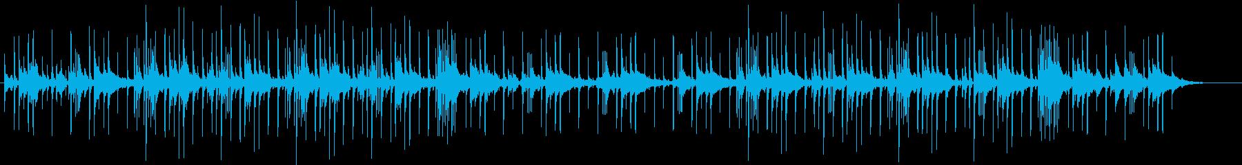 シックなPfメロをリミックス風にした曲の再生済みの波形