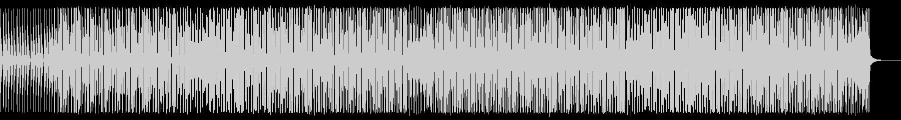 楽器が増えていくリズム重視なダンスPOPの未再生の波形